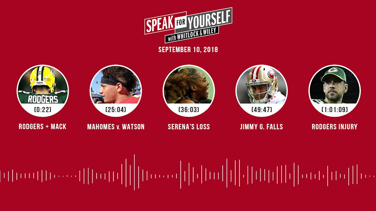 SPEAK FOR YOURSELF Audio Podcast (9.10.18) with Jason Whitlock, Marcellus Wiley | SPEAK FOR YOURSELF