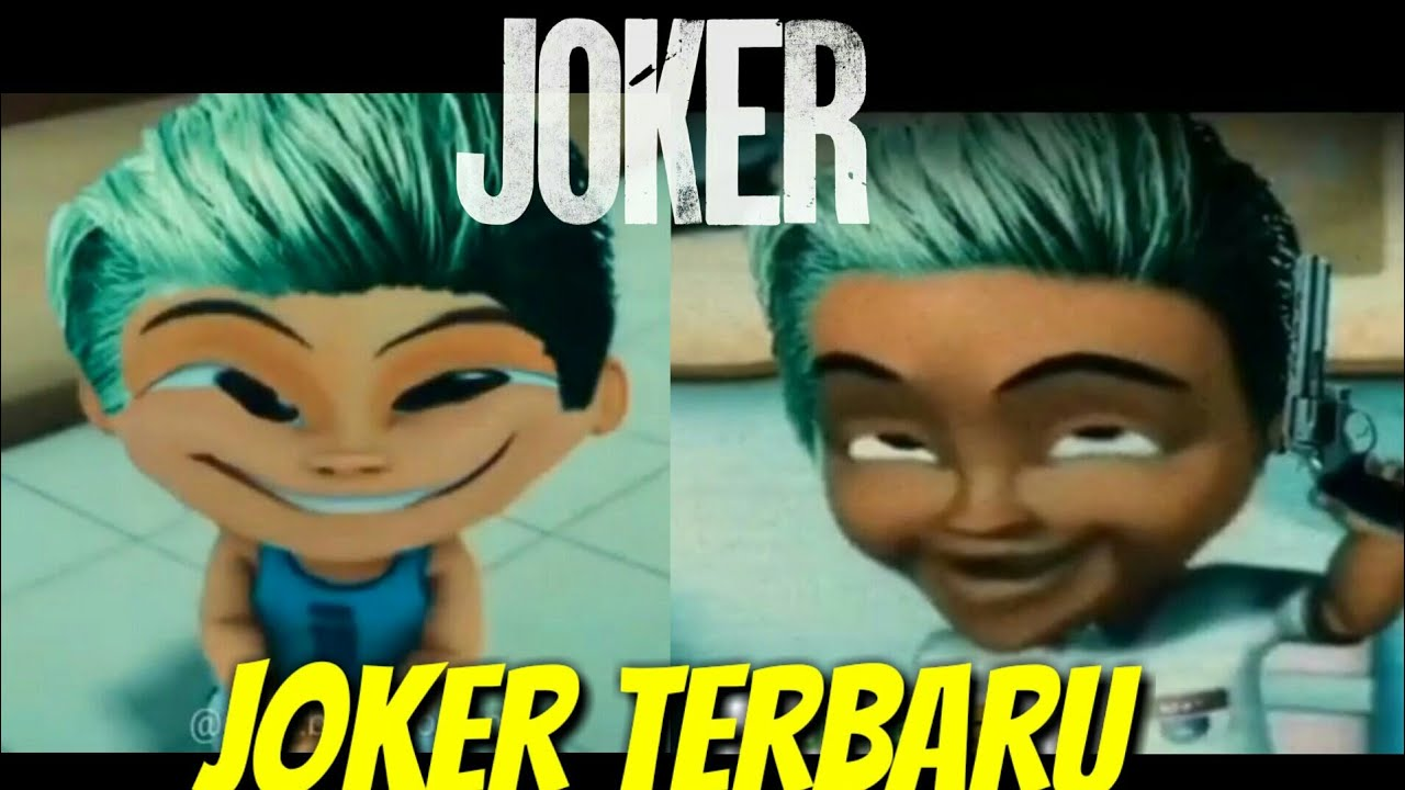 Upin Ipin Joker Ijat Jadi Joker Joker Terbaru 2020 Joker Lucu