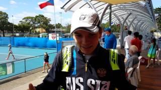 Россияне готовятся к юниорскому Australian Open 2017
