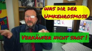 Karl Heinz Asenbaum Nutzen einer Umkehrosmose Anlage, was dir der Umkehrosmose Verkäufer nicht sagt