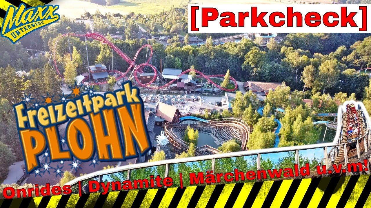 [Parkcheck] Freizeitpark Plohn 2021   Onrides   Dynamite   El Toro    Märchenwald