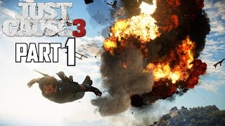 JUST CAUSE 3 WALKTHROUGH PART 1 - Introduction / Mission 1 - GTX 980 PC Ultra Gameplay 1080P60