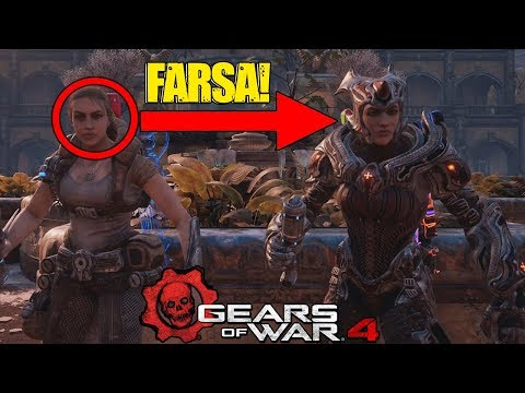 GEARS OF WAR 4 | LA GRAN FARSA DETRÁS DE LA REINA MYRRAH EL COPY PASTE DE THE COALITION!!