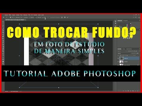 TROCAR O FUNDO DA FOTO - TUTORIAL ADOBE PHOTOSHOP thumbnail