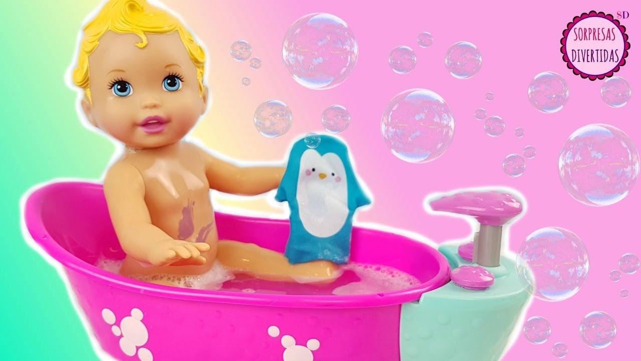 Baby little mommy ba o de espuma y burbujas nuevo juguete - Nenuco bano de burbujas ...