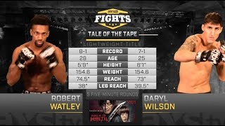 Fight of the Week: Robert Watley Defends His Title Against Daryl Wilson