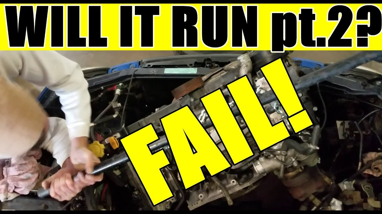 ALMOST DIED - BUT WILL THE WRX RUN??? - JDM ej205 engine swapped wrx start  up