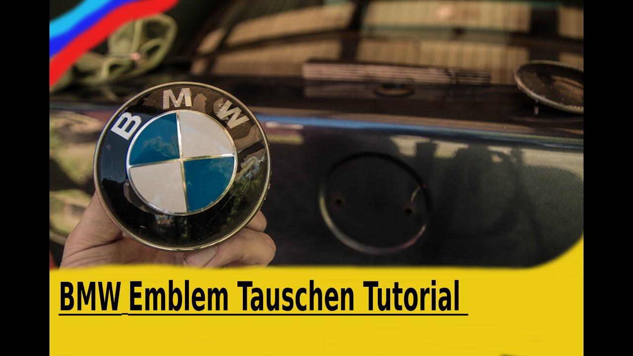 BMW Emblem Tauschen [Tutorial] - YouTube