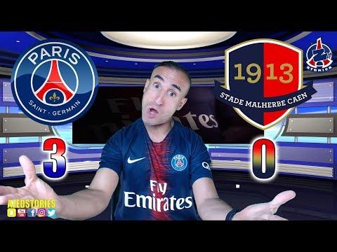PSG 3-0 CAEN - Azéd Stories
