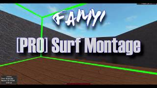 Roblox Surf - INTENSE PRO GAMEPLAY COMPILATION