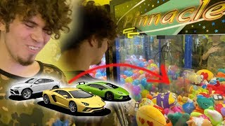 Winning A Real Car From Claw Machine (Not Clickbait)