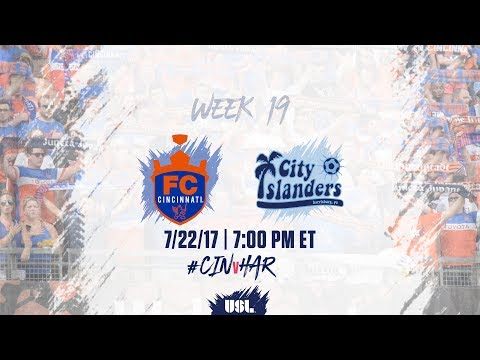 USL LIVE - FC Cincinnati vs Harrisburg City Islanders 7/22/17