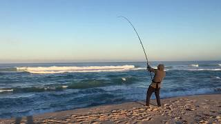 Surf Fishing for Mulloway in the Mid-West