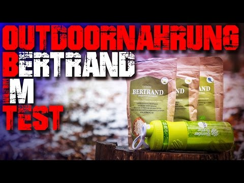 Outdoor Nahrung Bertrand im Test - Review - Essen Survival Bushcraft Trekking Deutsch Deutschland