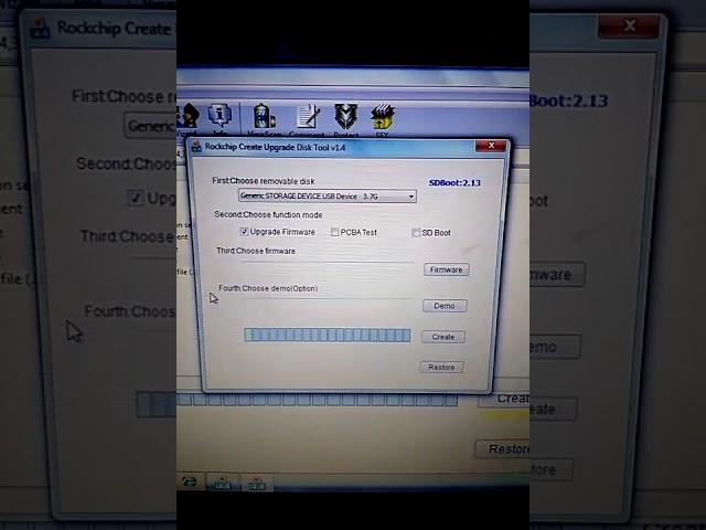 Bootable SD card firmware