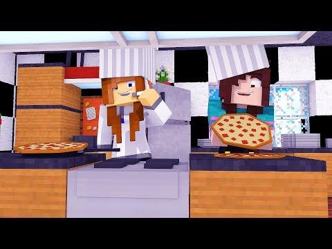 Minecraft: FAZENDINHA #19 - COZINHAMOS UMA PIZZA! | BIBI |