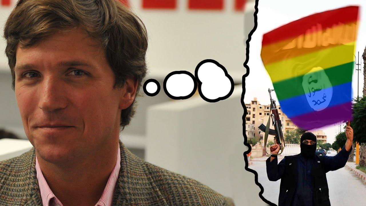Tucker carlson gay