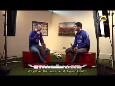 Suárez vs Iniesta