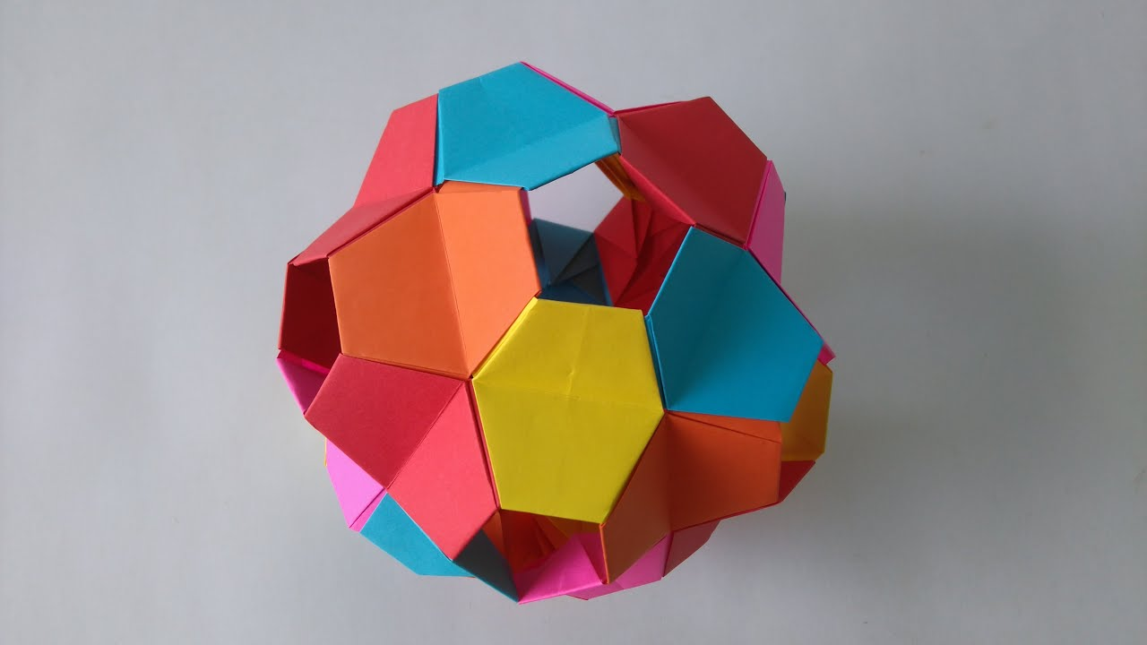 origami toys how to make an origami kusudama little