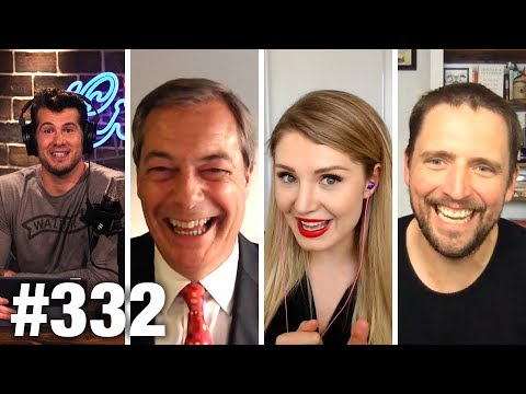 #332 NORDIC 'SOCIALISM' DEBUNKED! | Nigel Farage and Lauren Southern Guest | Louder With Crowder