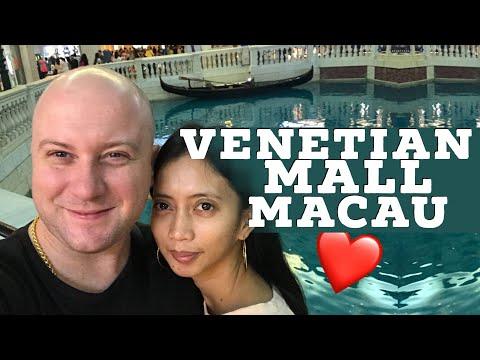 Venetian Mall in Macau Cotai