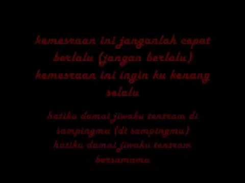 kemesraan ini - yuni shara (lyrics)