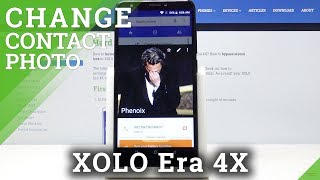 How to Add Photo to Contact in XOLO Era 4X – Add Profile Picture