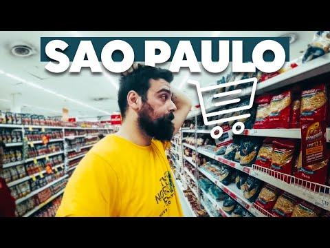 Brezilya-Sao Paulo'da Market Fiyatları