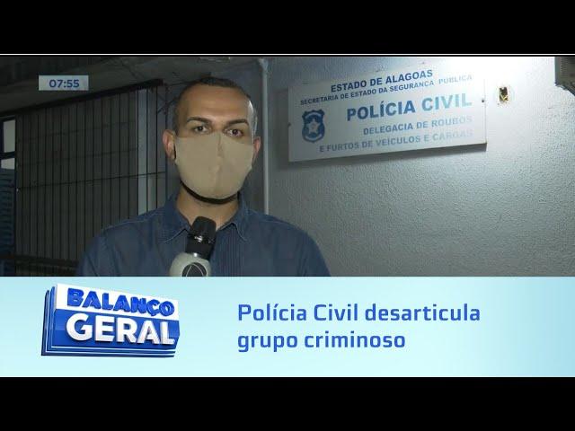 PC desarticula grupo criminoso envolvido em desviar cargas de fertilizantes