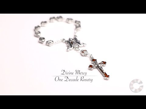Beautiful Divine Mercy One Decade Rosary at Catholic Online Shopping HD