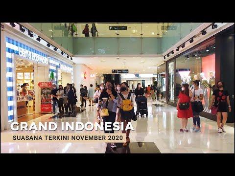 Walking Tour 4K ~ Grand Indonesia Shopping Mall At Jakarta City