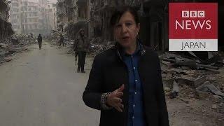 シリア主要都市アレッポをめぐる政府軍と反政府勢力の攻防戦で、反政府...