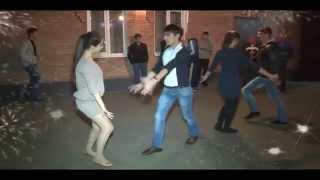 Национальные танцы на свадьбе . Осетия . 2014 год .