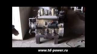 Судовой двигатель 4ЧСП 8,5/11 с редуктором МА142