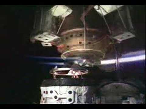 STS 74 Orbital Docking System installation