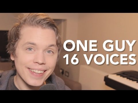 One Guy, 16 Voices