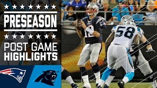 Patriots vs. Panthers | Post Game Highlights | NFL