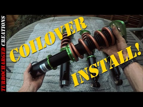 Z31 300zx Powertrix Coilover Install