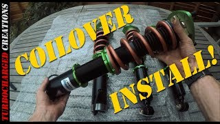 Z31 300zx Coilover Install