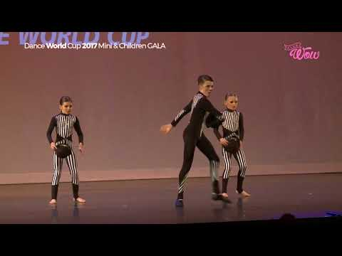 Dance World Cup Germany 2017 TRIO Harrison,  Ellie jo and Libby