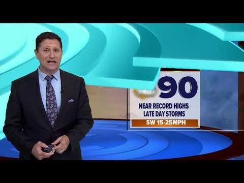 Tuesday midmorning forecast