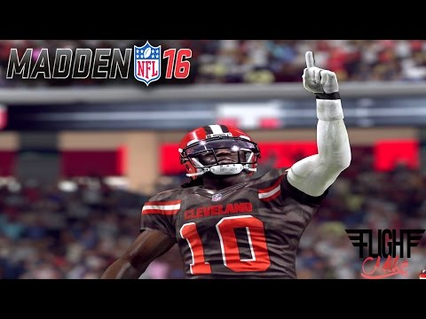 ROBERT GRIFFIN III SHINES IN CLEVELAND BROWNS DEBUT!! - MADDEN 16 ULTIMATE TEAM GAMEPLAY #77