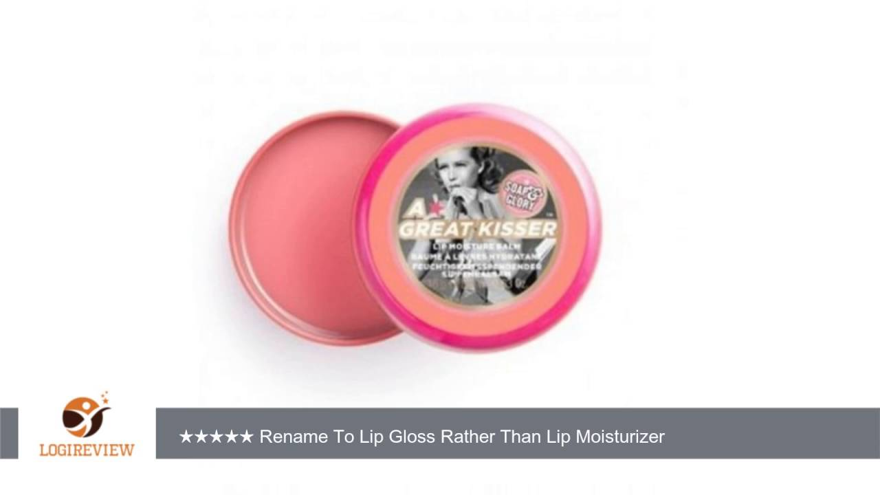 A great kisser lip balm