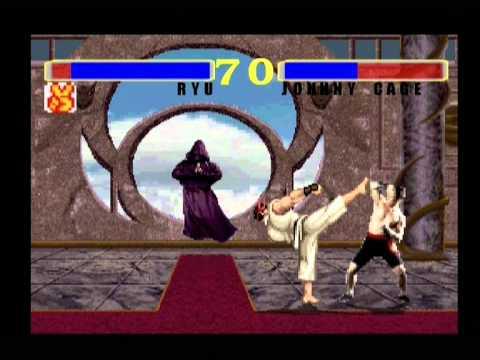 Dreamcast Street Fighter Vs Mortal Kombat Using The Dolmexica