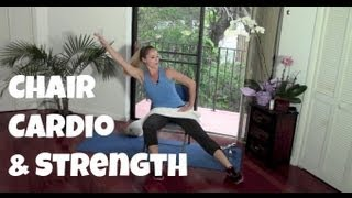 40-Minute Seated Chair Cardio and Strength Workout