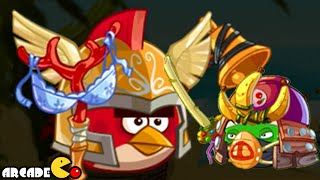 Angry Birds Epic: NEW Boss Red Birds - CAVE 5 Burning Plain Level 3