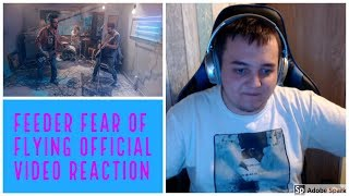 Feeder   Fear Of Flying Official Video  REACTION