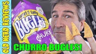 Sweet & Salty Churro Bugles REVIEW #buglefingers