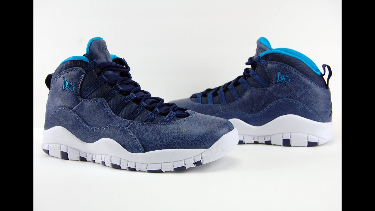 on sale 825b0 142c7 Air Jordan 10 Los Angeles LA City Pack 2016 Review + On Feet