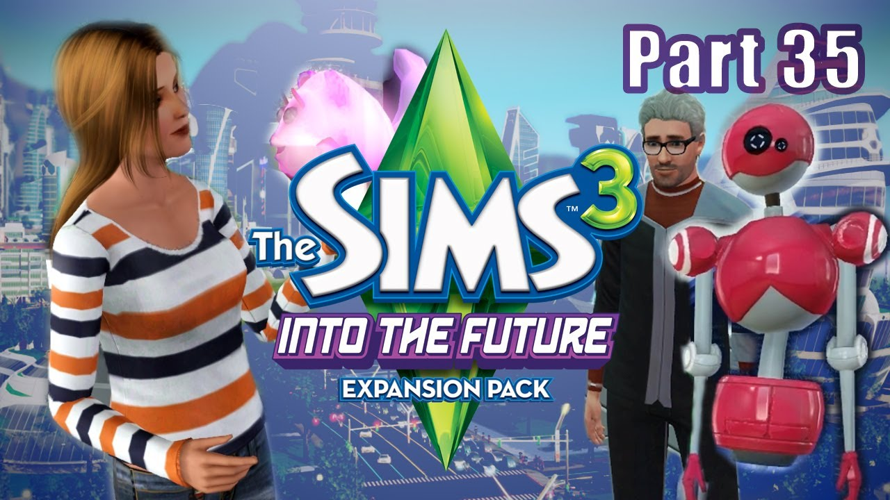 Sims 3 - Into the Future #35 Plumbot Shopping
